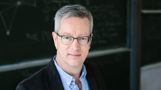 Portrait of Mathematician Prof. Günter M. Ziegler