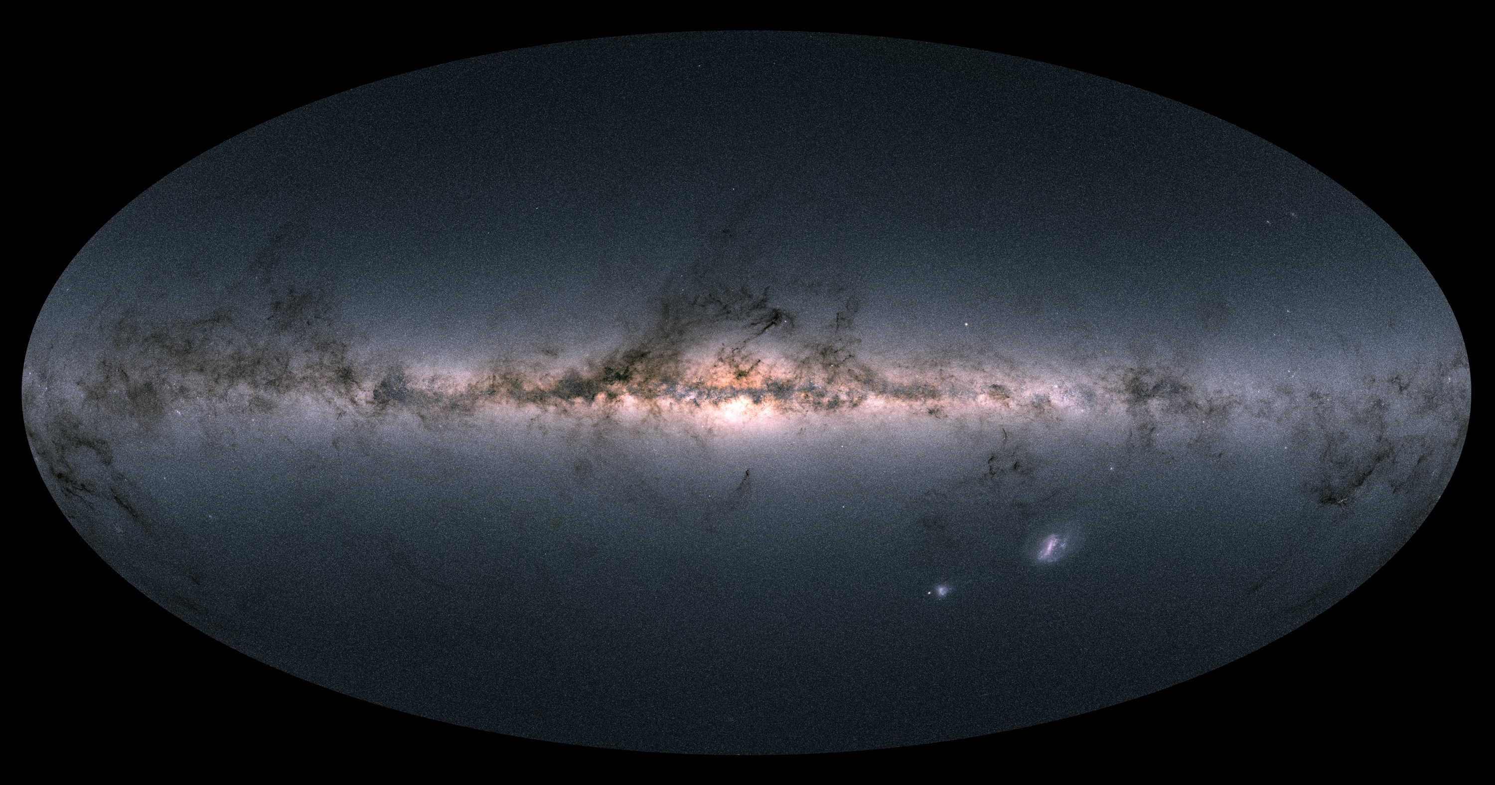 "Art for ""What Astronomers Are Learning From Gaia's New Milky Way Map"""