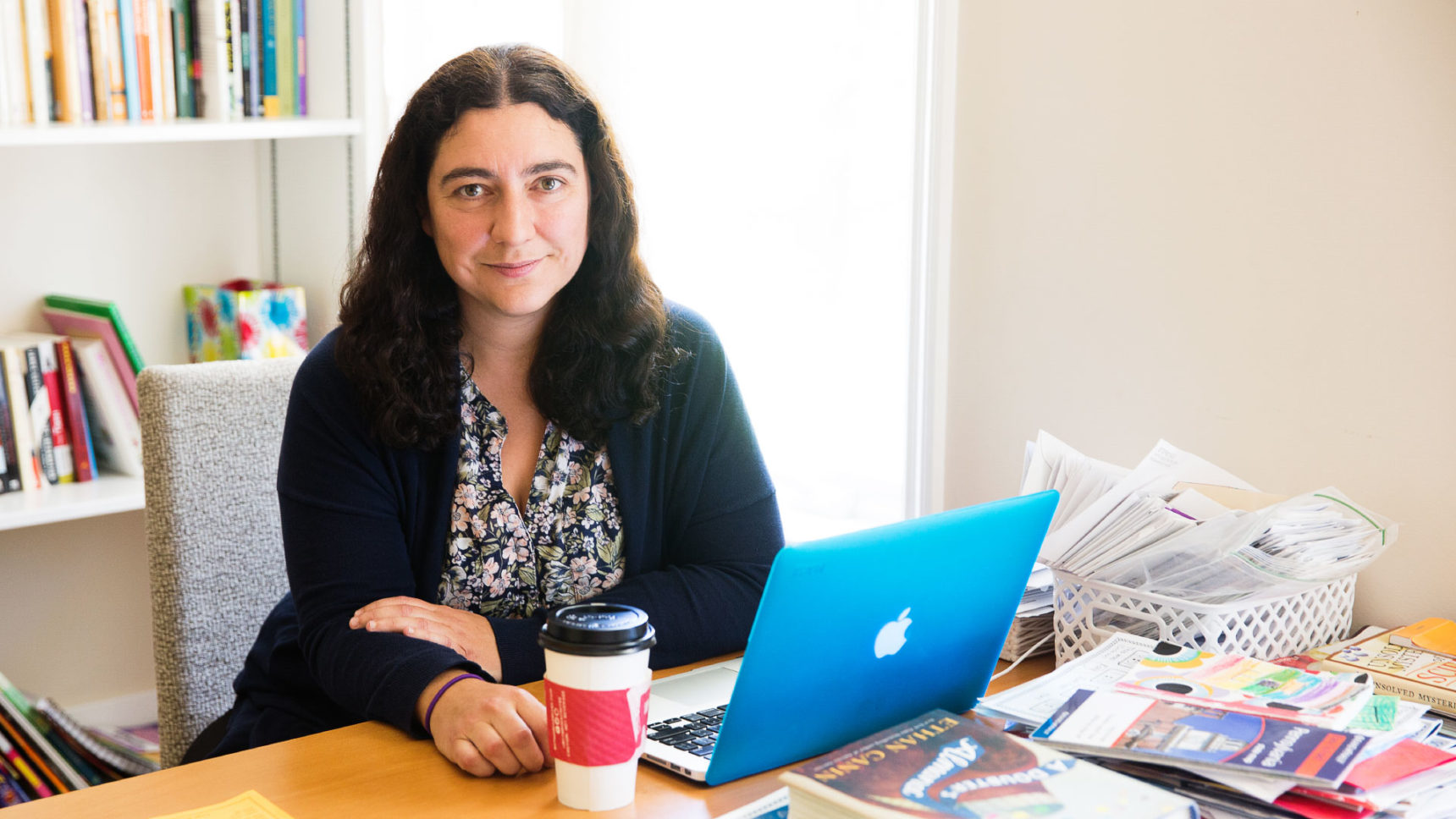 Carina Curto, a mathematician at Pennsylvania State University, explains how her background in theoretical physics helps her tackle daunting problems in theoretical neuroscience.