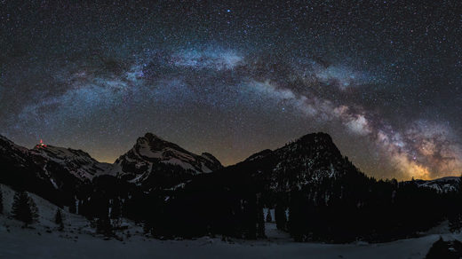 "Photo for ""The Milky Way Once Collided With Another Galaxy"""