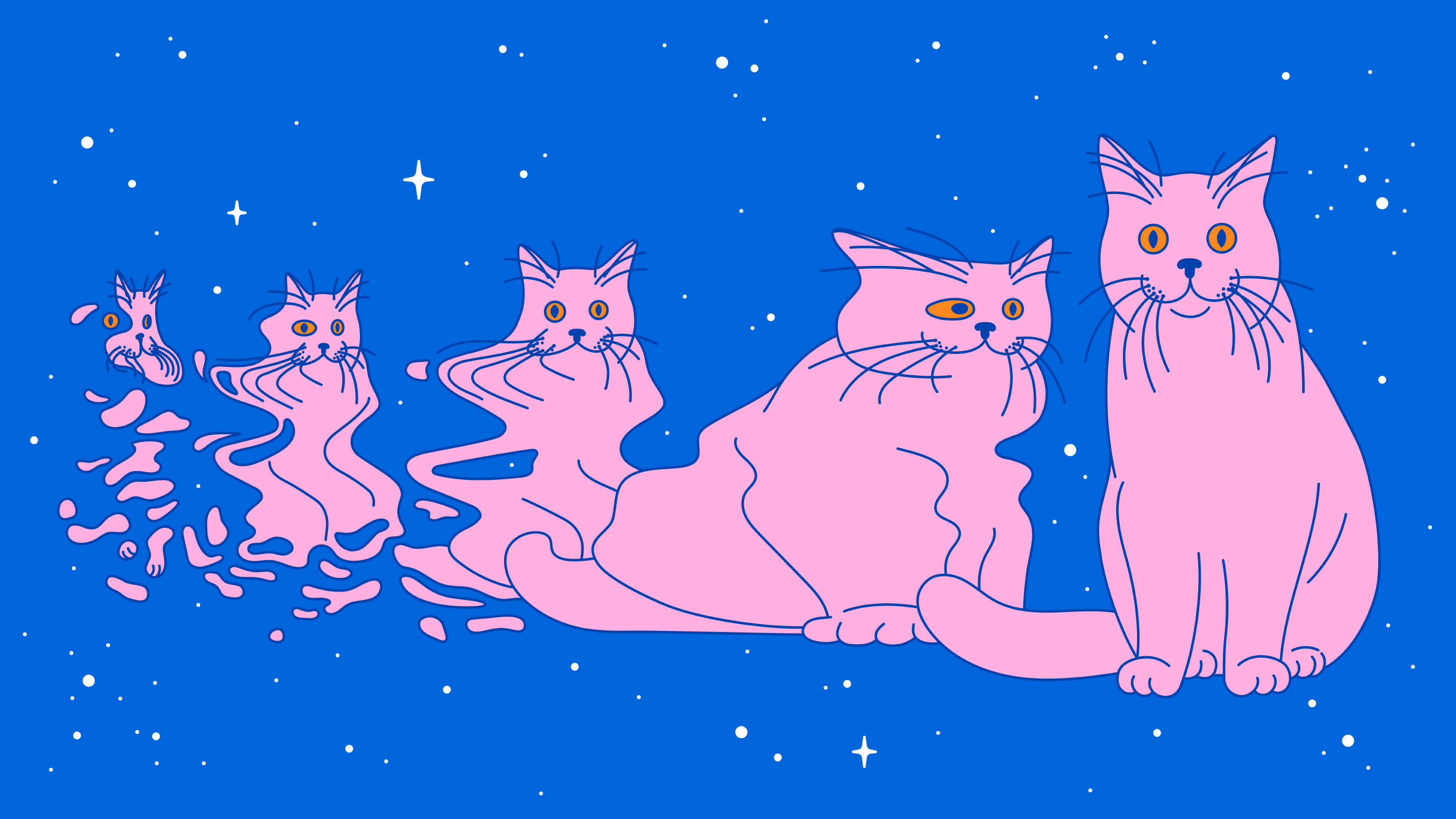 "Illustration for ""Real-Life Schrödinger's Cats Probe the Boundary of the Quantum World"""