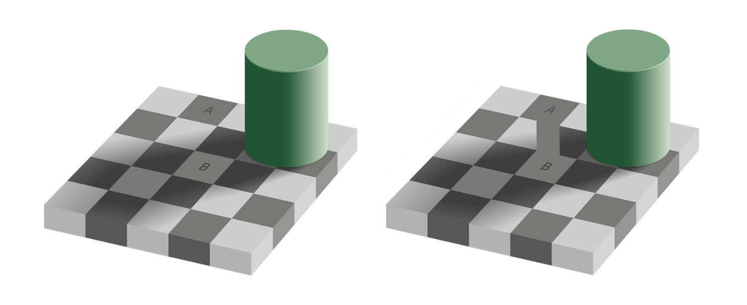Image of checker shadow illusion