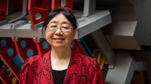Sau Lan Wu at CERN, 2018