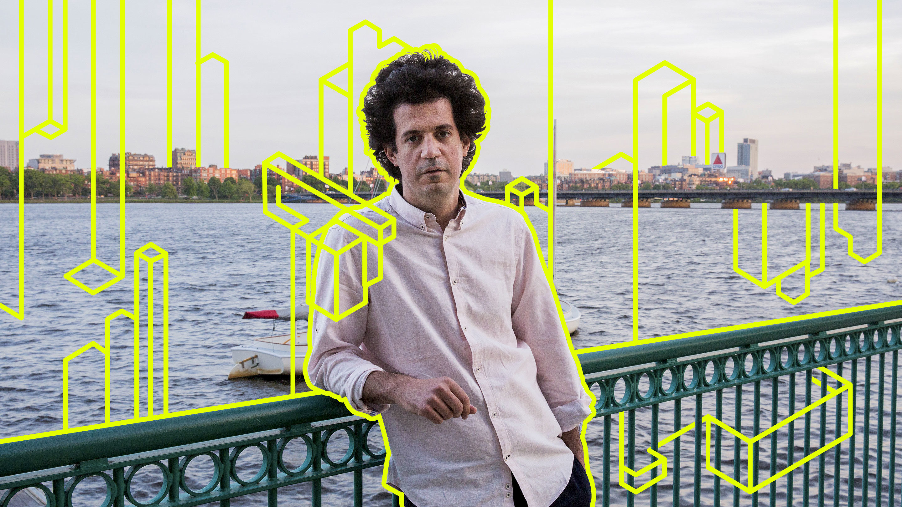 Photo illustration of Constantinos Daskalakis