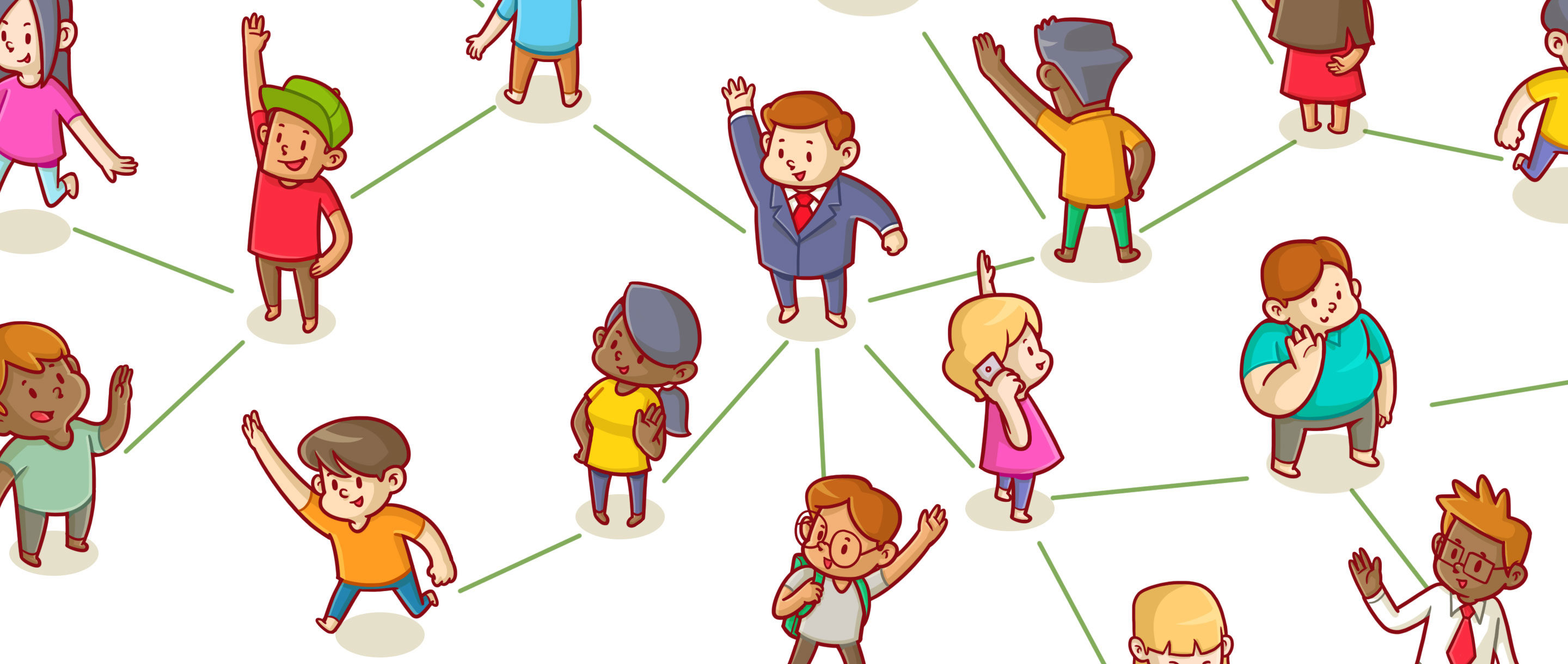 "Art for ""How Network Math Can Help You Make Friends"""