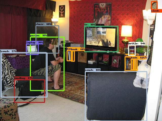 Photo of AI identifying objects in an image, including a floating elephant.