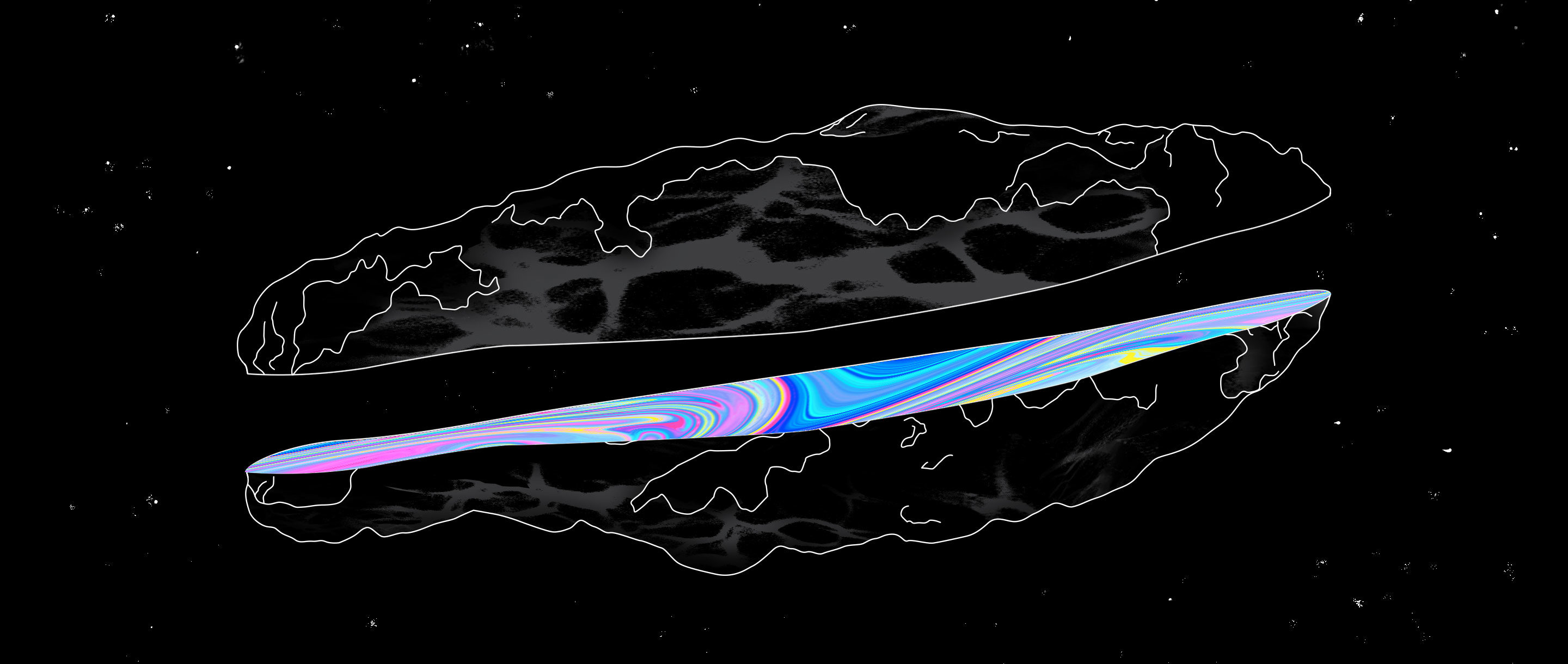 "Art for ""Interstellar Visitor Found to Be Unlike a Comet or an Asteroid"""