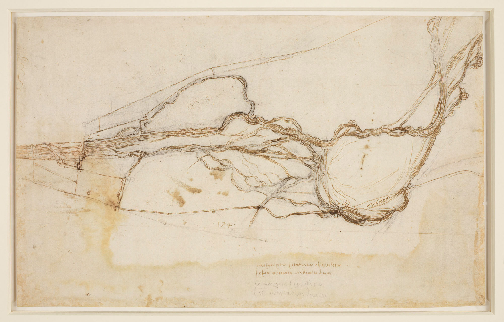 Image of da Vinci's sketch