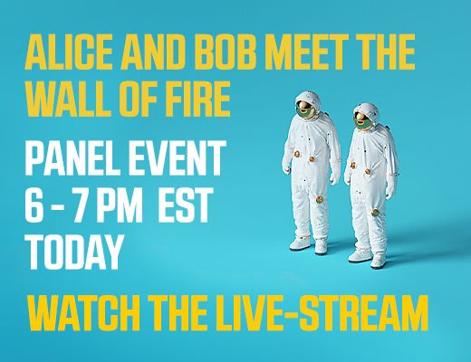 Join writers and editors from Quanta Magazine for a stimulating panel discussion on the biggest ideas in math and science presented in two new books: Alice and Bob Meet the Wall of Fire and The Prime Number Conspiracy. Coming November 2018. Pre-order now!