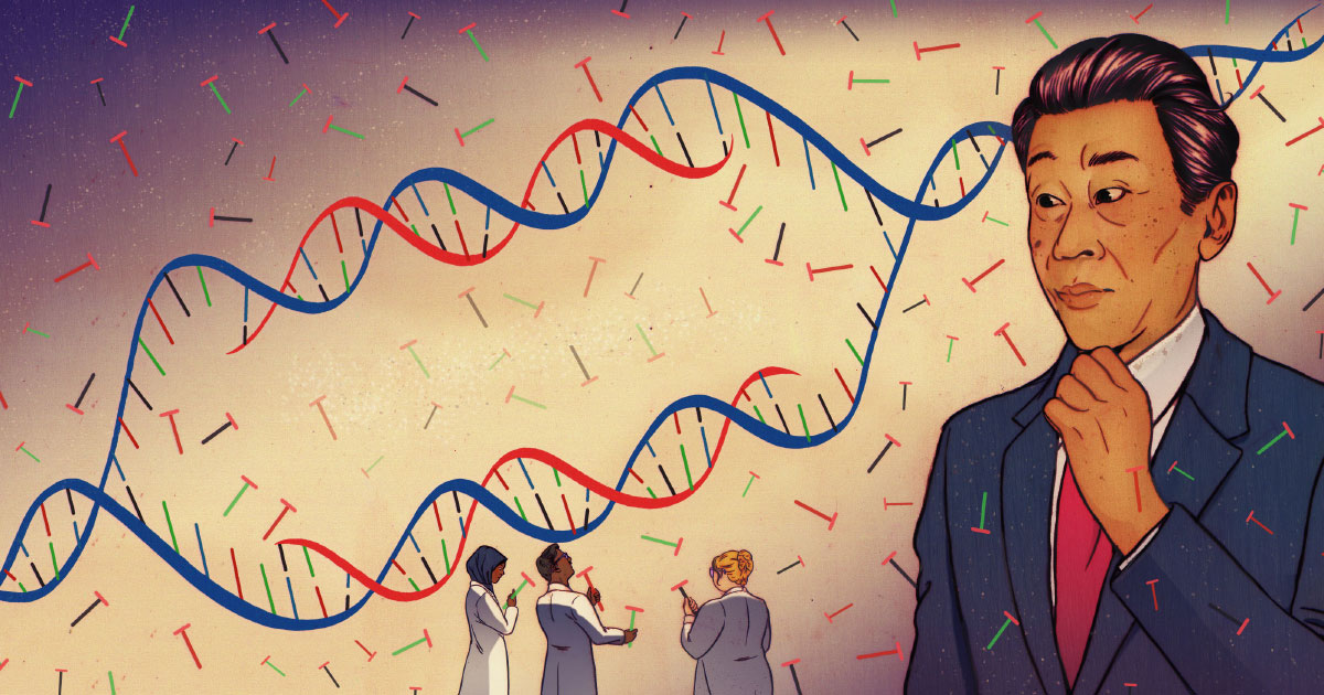 Neutral Theory Of Evolution Challenged By Evidence For Dna Selection Quanta Magazine