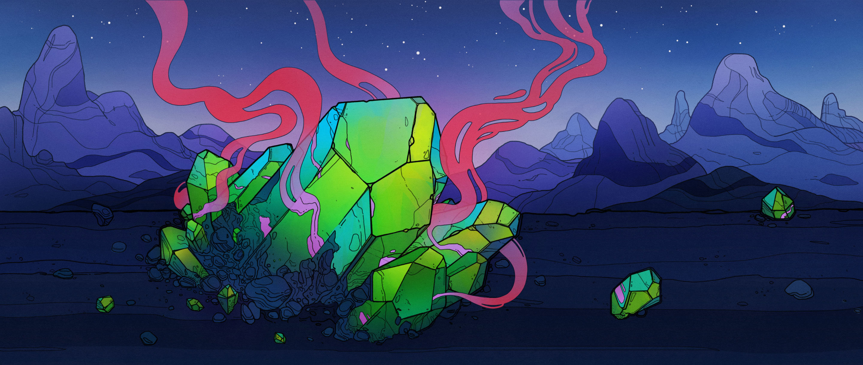 "Art for ""Why the Best Place to Find Dark Matter May Be in a Rock"""