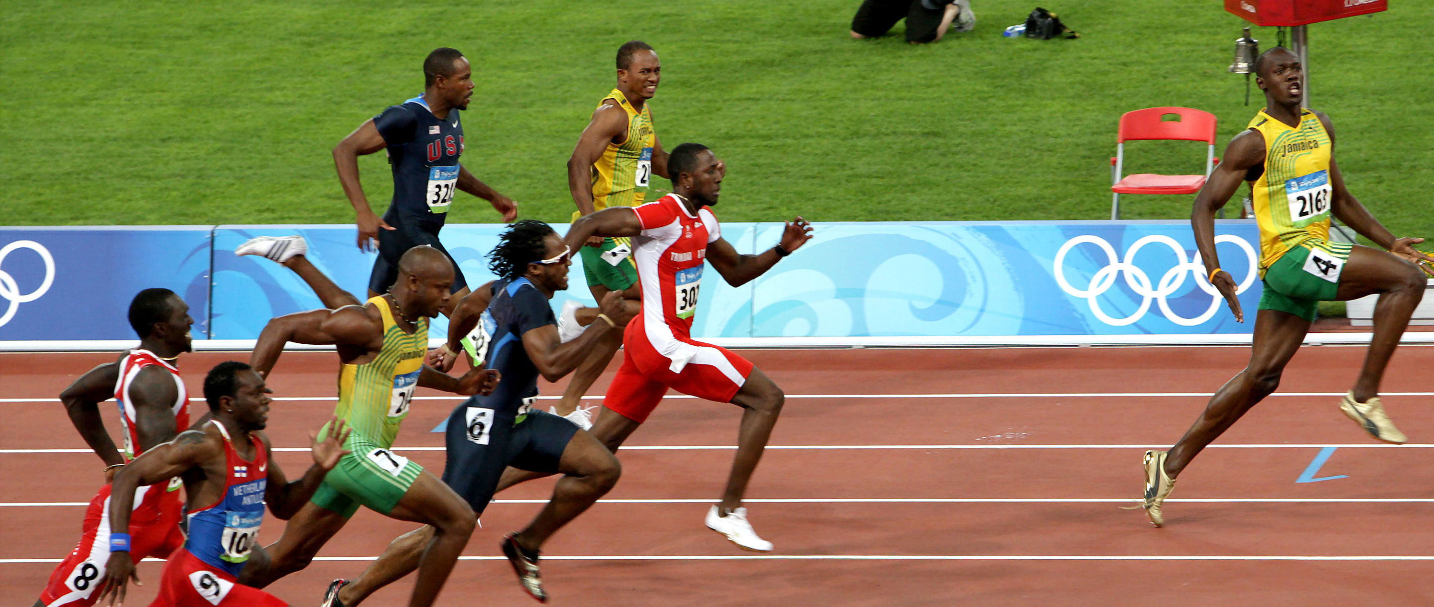 "Art for ""Usain Bolt's Split Times and the Power of Calculus"""