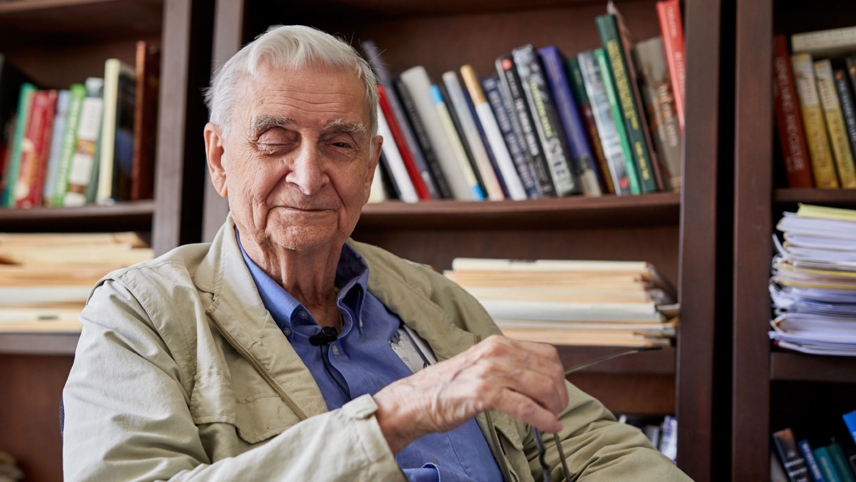 "Edward O. Wilson, professor emeritus at Harvard University, is the influential naturalist and evolutionary theorist who introduced the concept of ""sociobiology,"" as well as one of the world's leading experts on ants. Here, he explains the relevance of evolved insect behaviors to human nature."