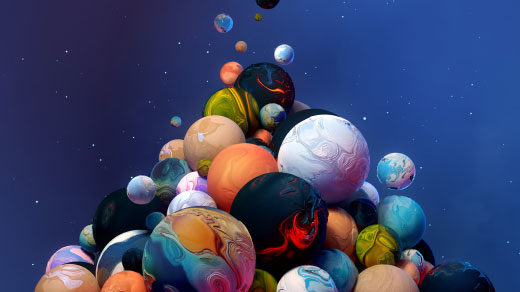 """Art for """"As Planet Discoveries Pile Up, a Gap Appears in the Pattern"""""""