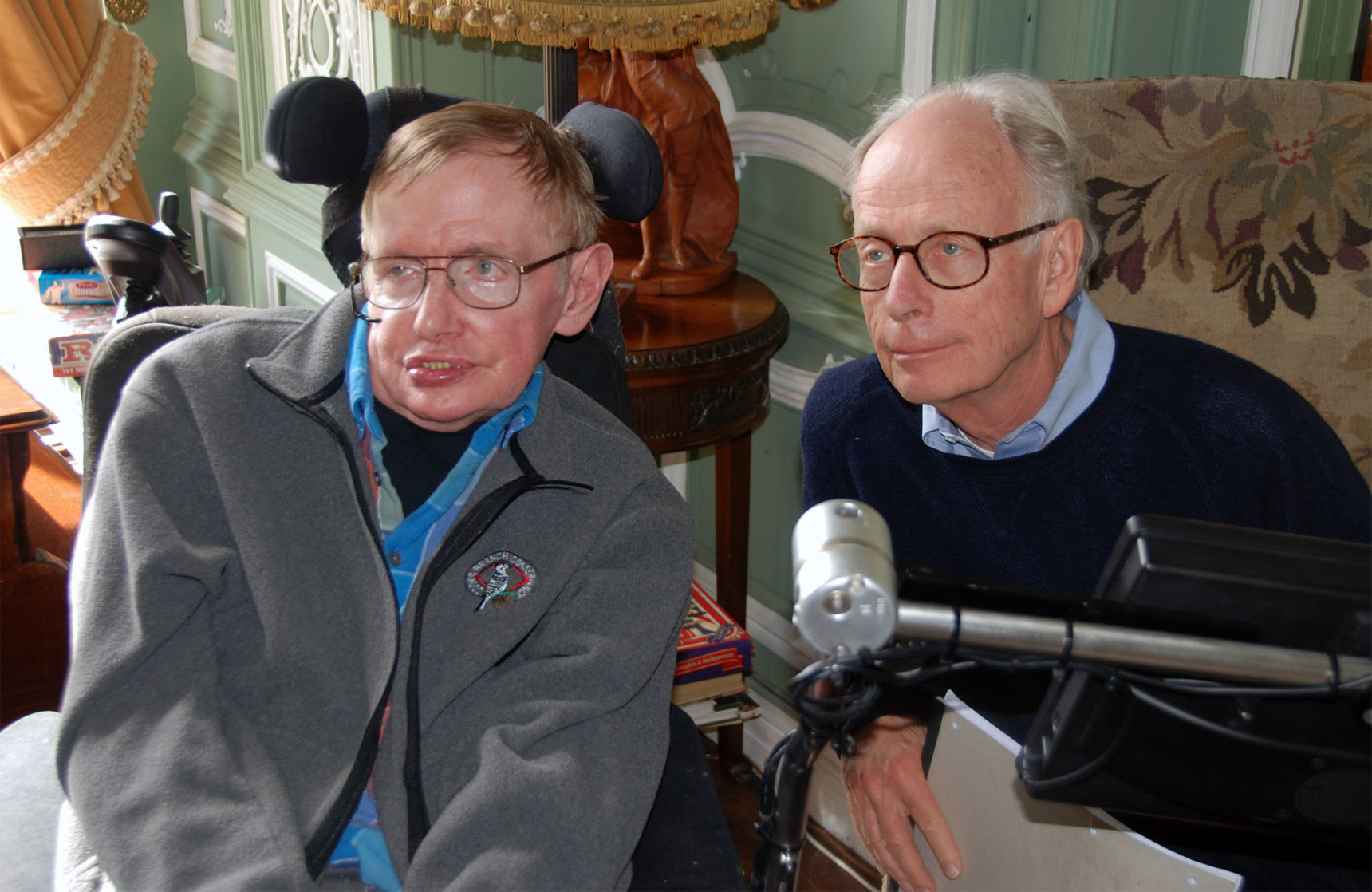 PHOTO: Stephen Hawking and James Hartle
