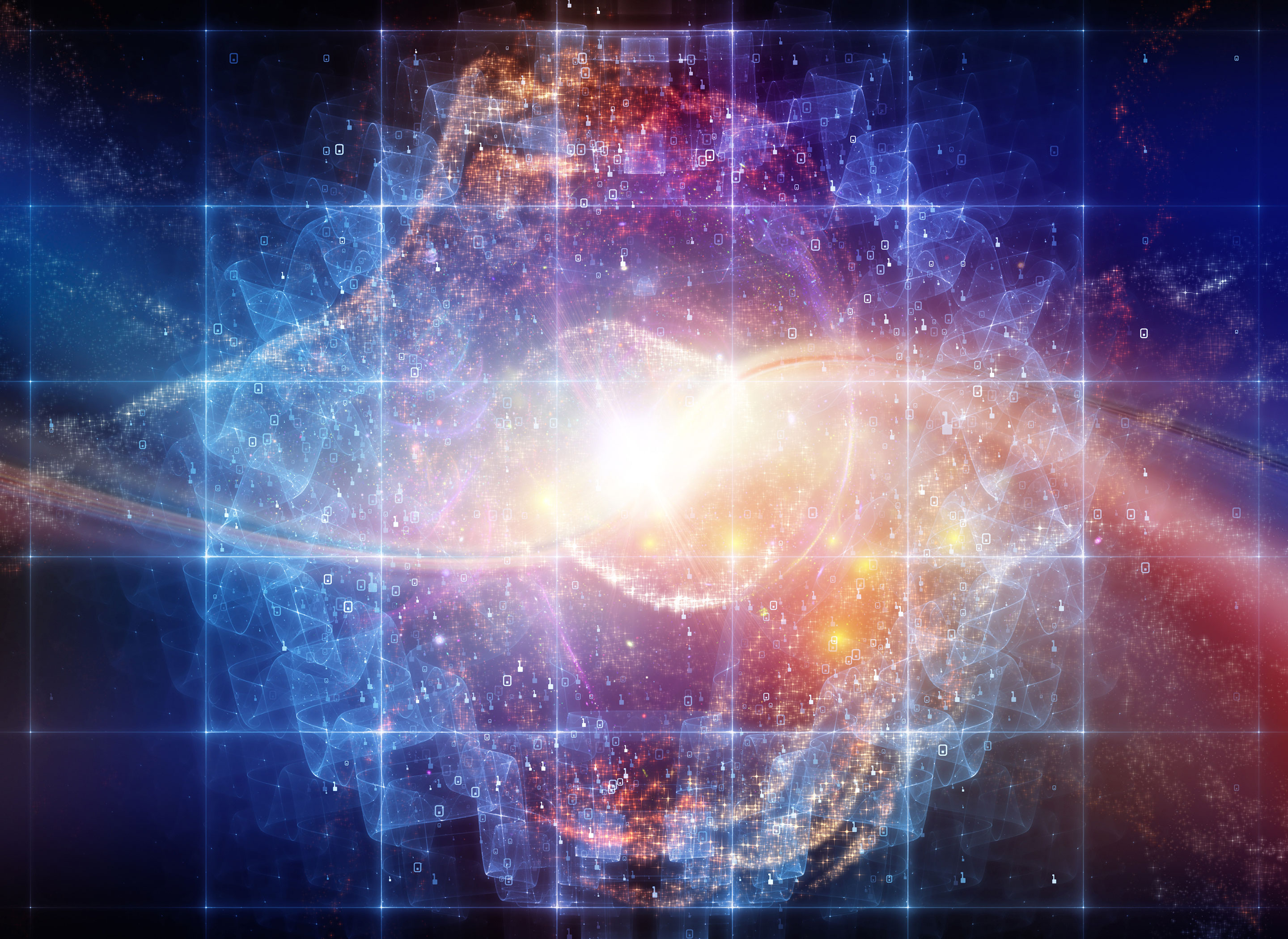 How (Relatively) Simple Symmetries Underlie Our Expanding Universe
