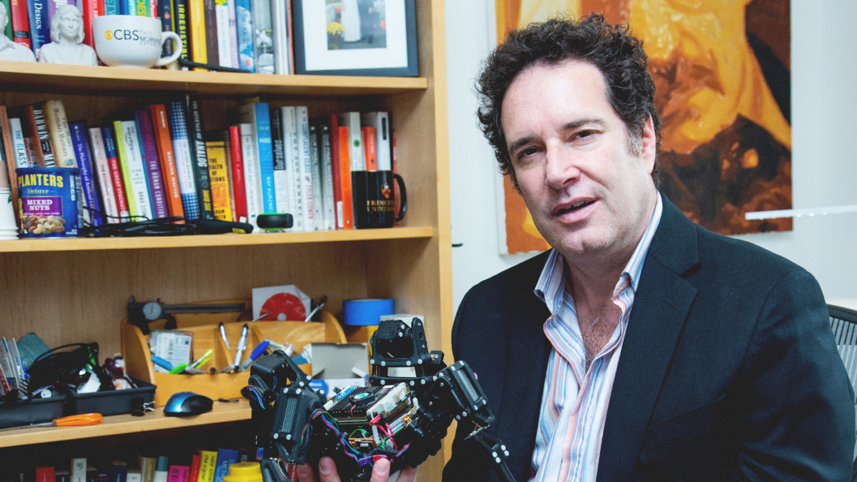 The roboticist Hod Lipson, the director of the Creative Machines Lab at Columbia University, uses robots to explore ancient questions about how people think.