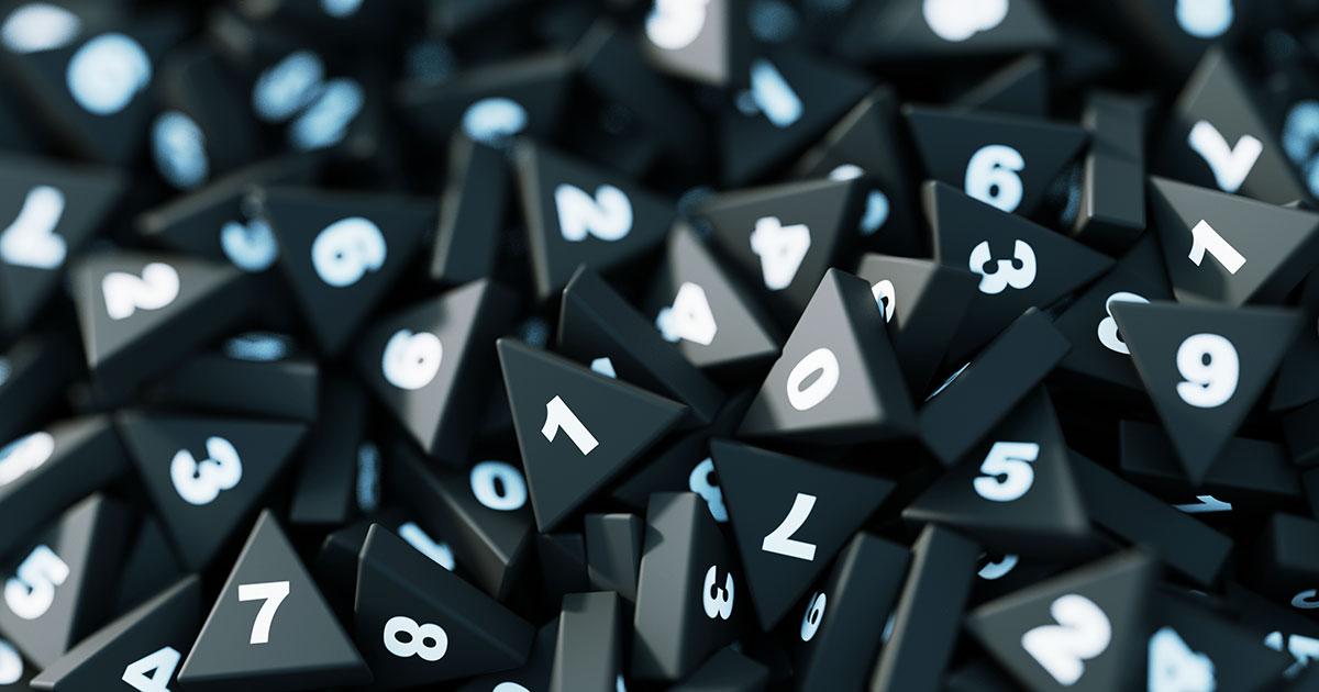 How Randomness Can Make Math Easier