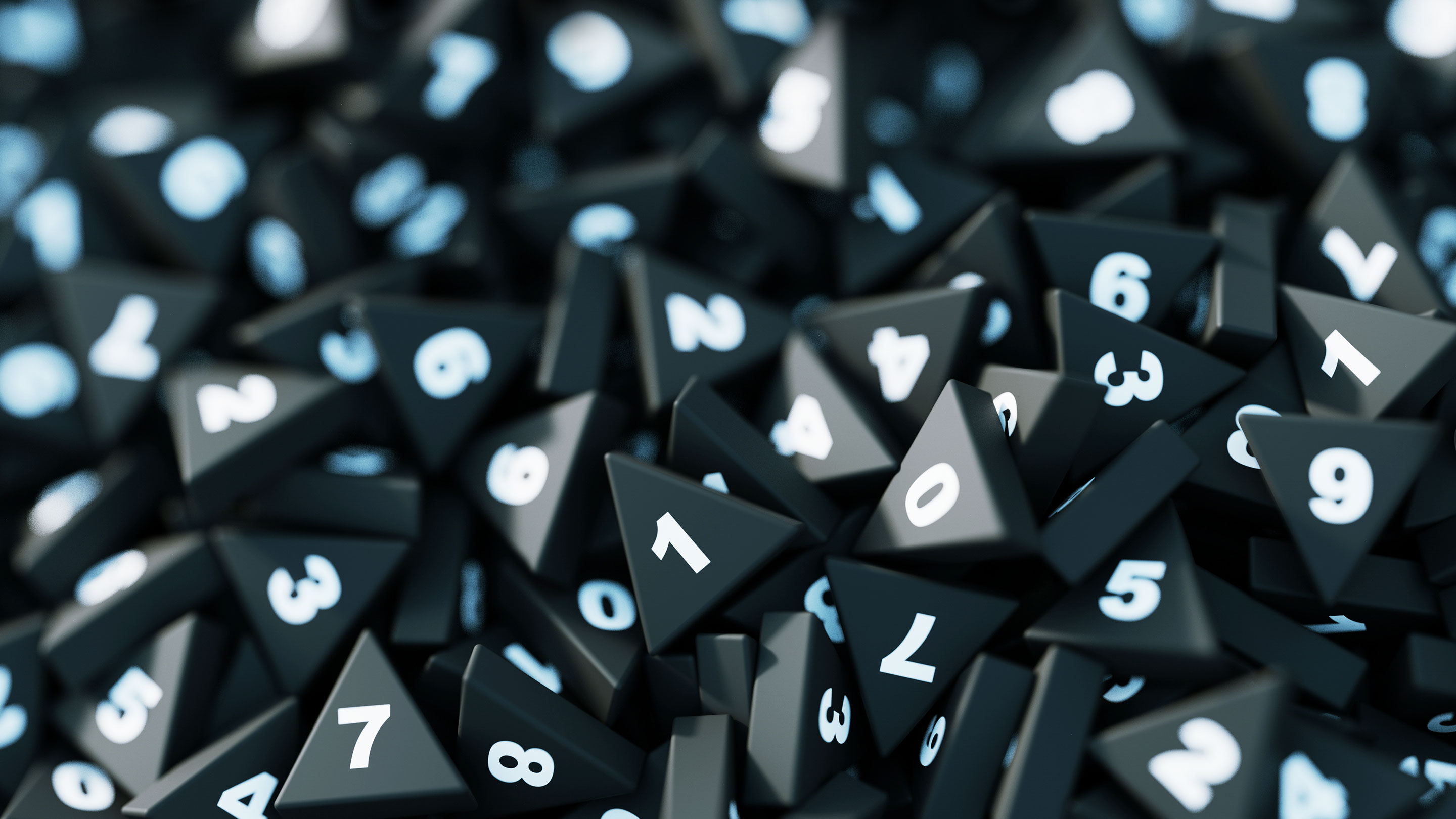 How Randomness Can Make Math Easier