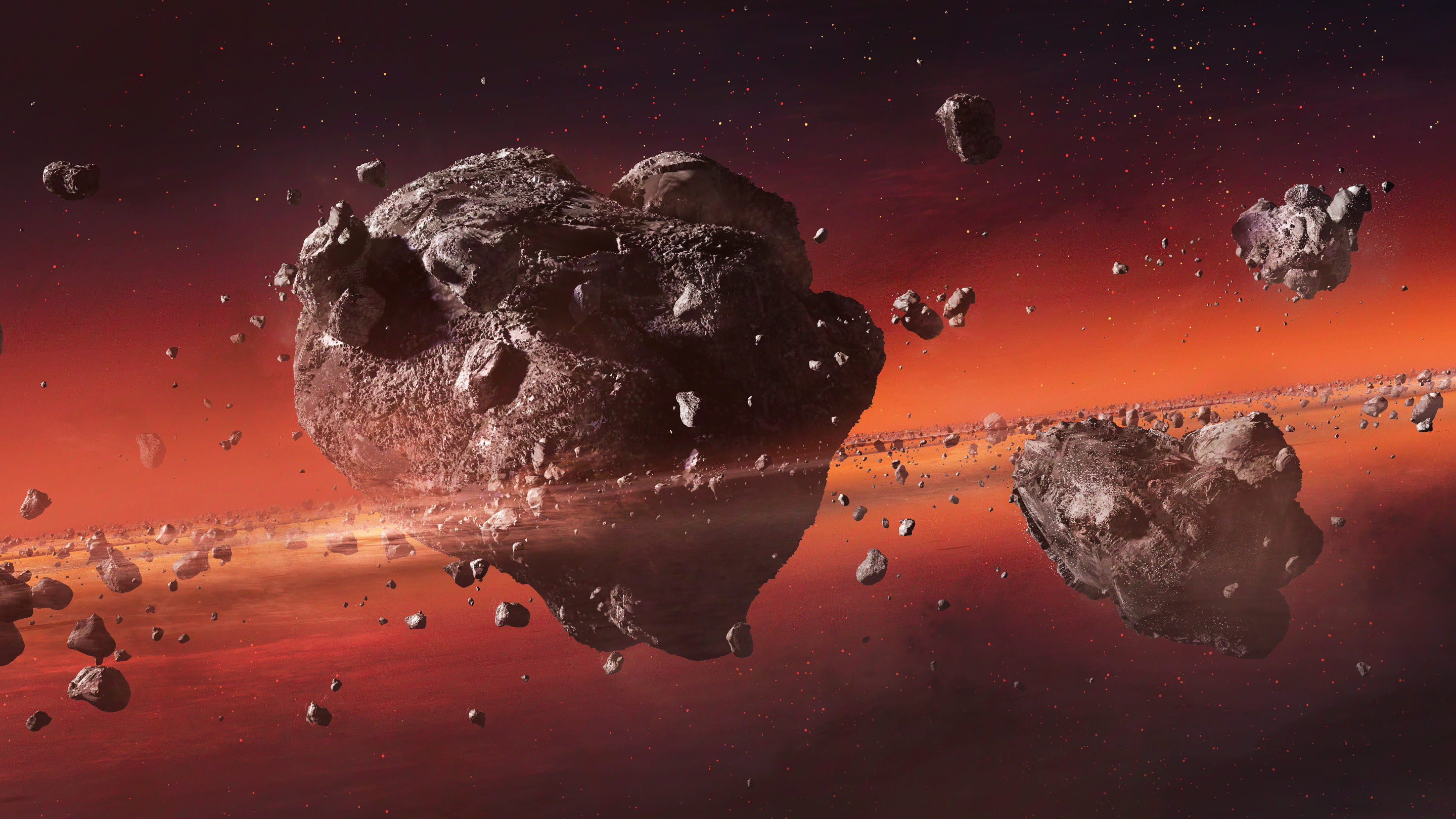 Wandering Space Rocks Help Solve Mysteries of Planet Formation