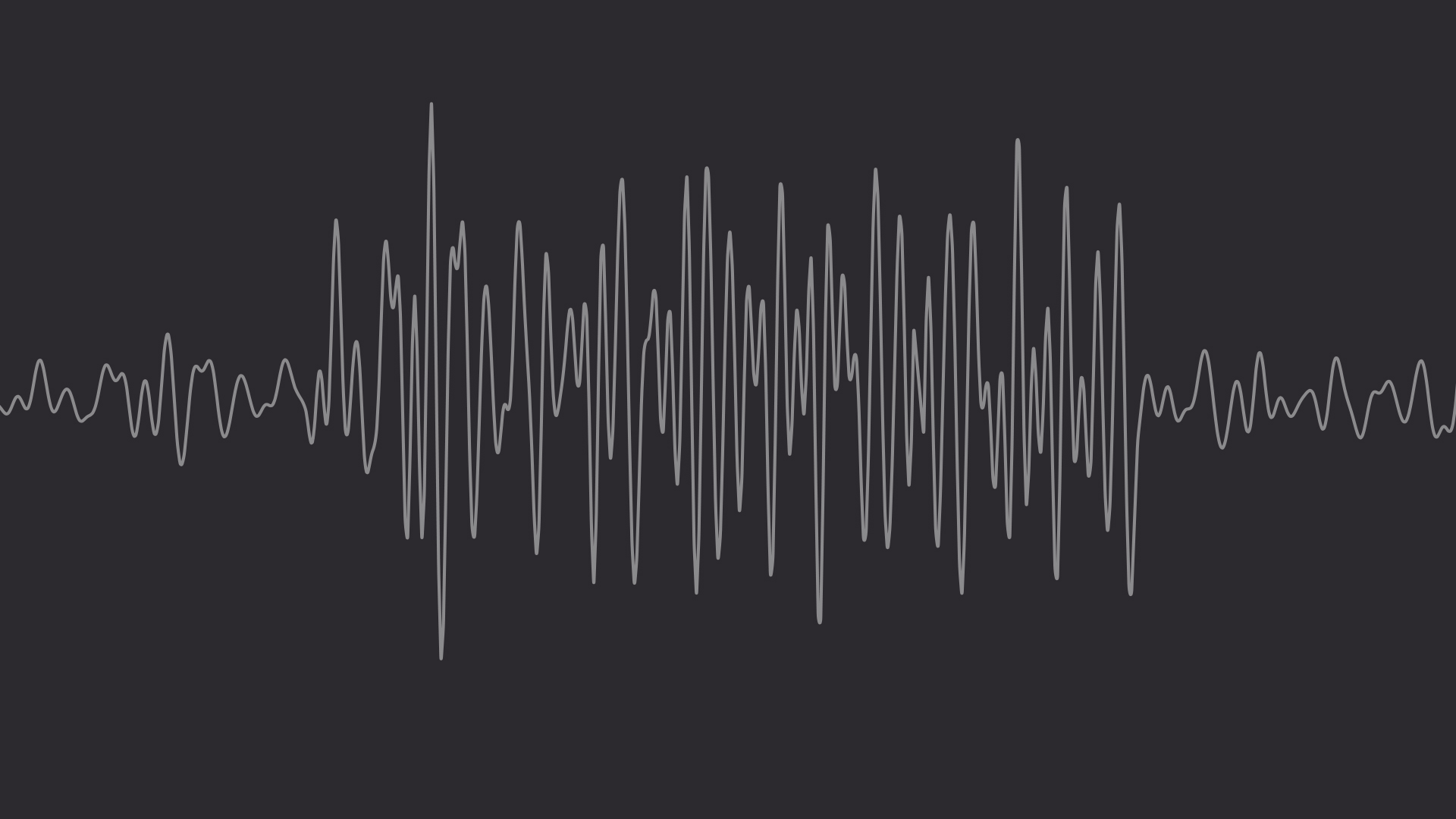 A looping video that shows a rippling wave pattern in a simplified brainwave pattern