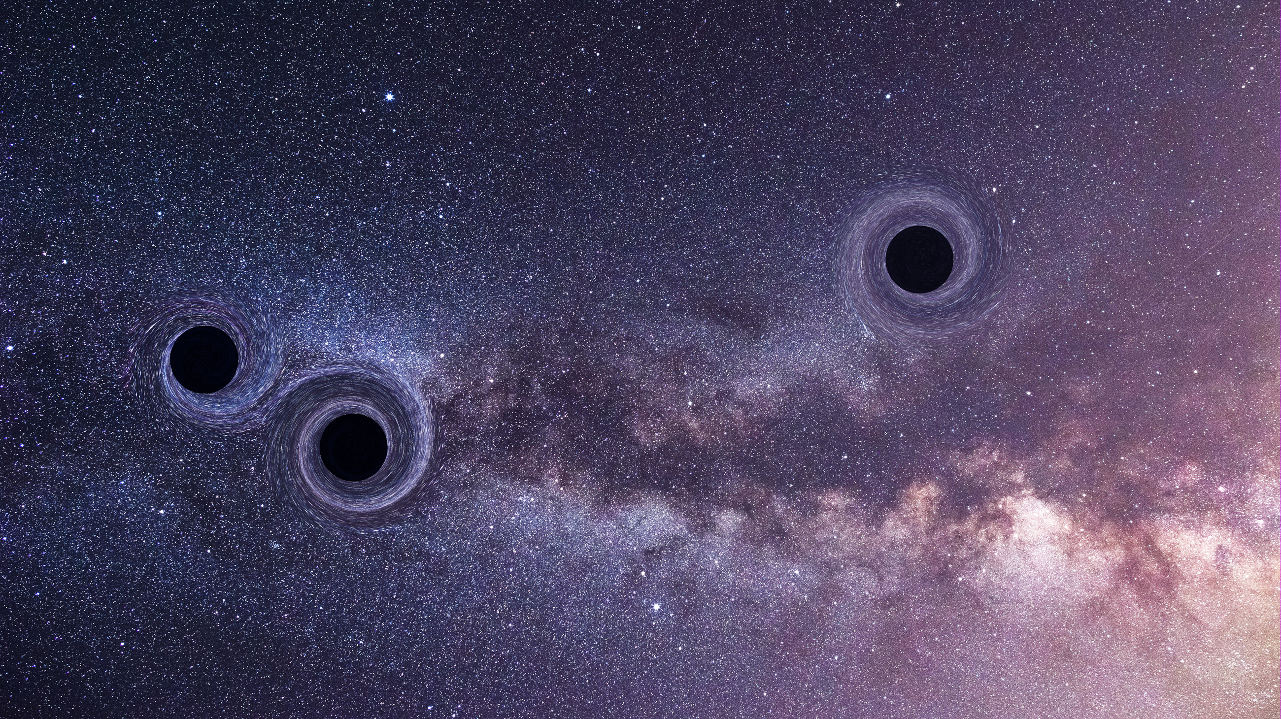 To Make Two Black Holes Collide, Try Three