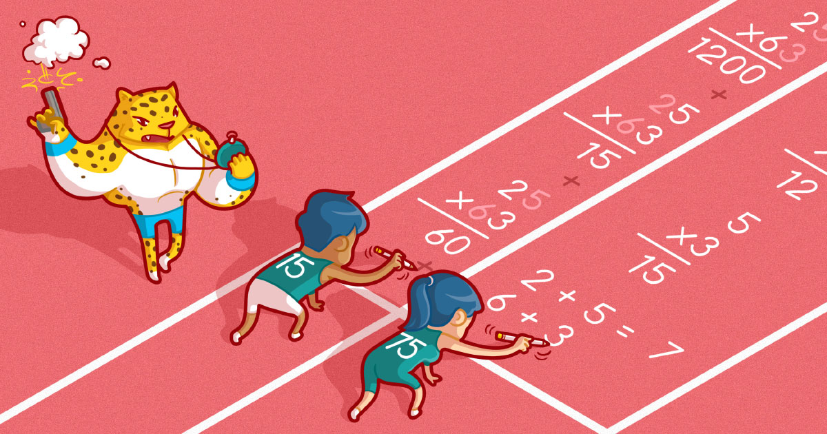 On Your Mark, Get Set, Multiply