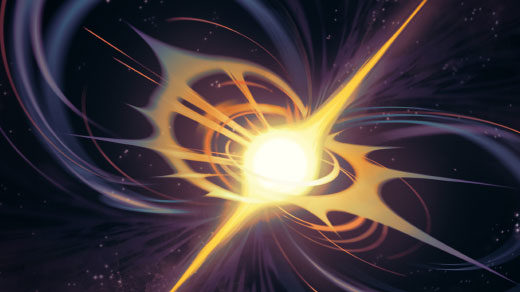 Thumbnail: stylized illustration of a supernova