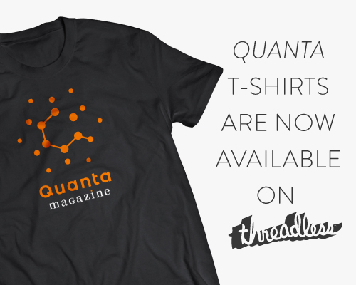 Quanta T-shirts are now available on Threadless