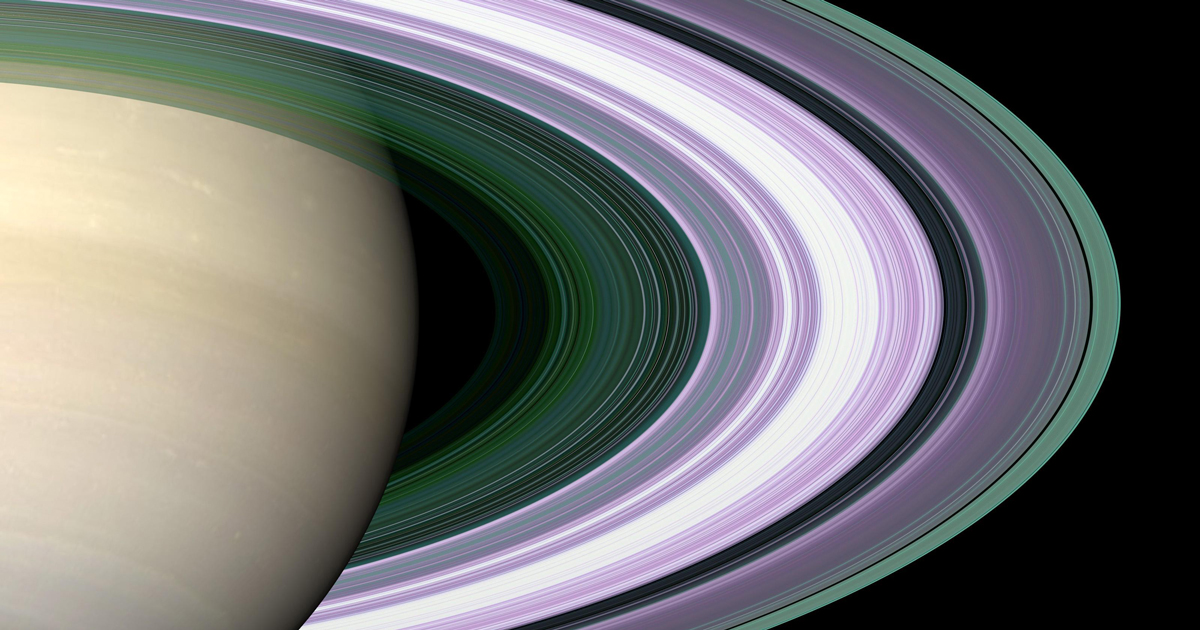 Are Saturn's Rings Really as Young as the Dinosaurs? | Quanta Magazine