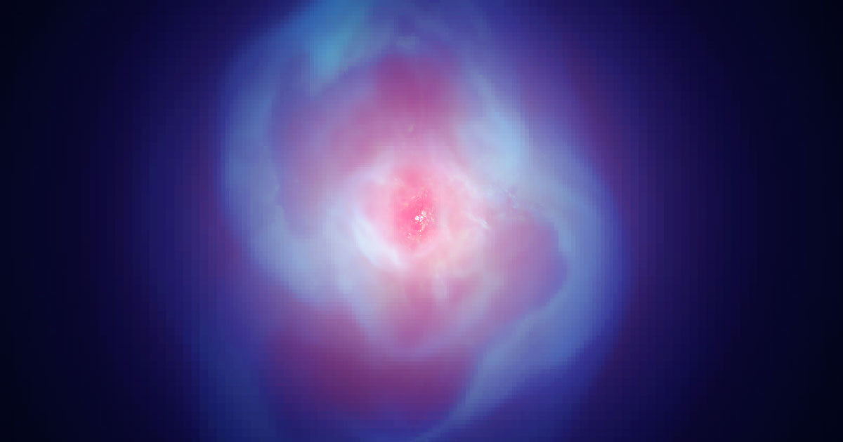 Astronomers Find Black Holes Stirring Up the Biggest Galaxies   Quanta Magazine