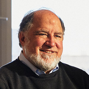 Photo of Ronald Rivest sitting in his office