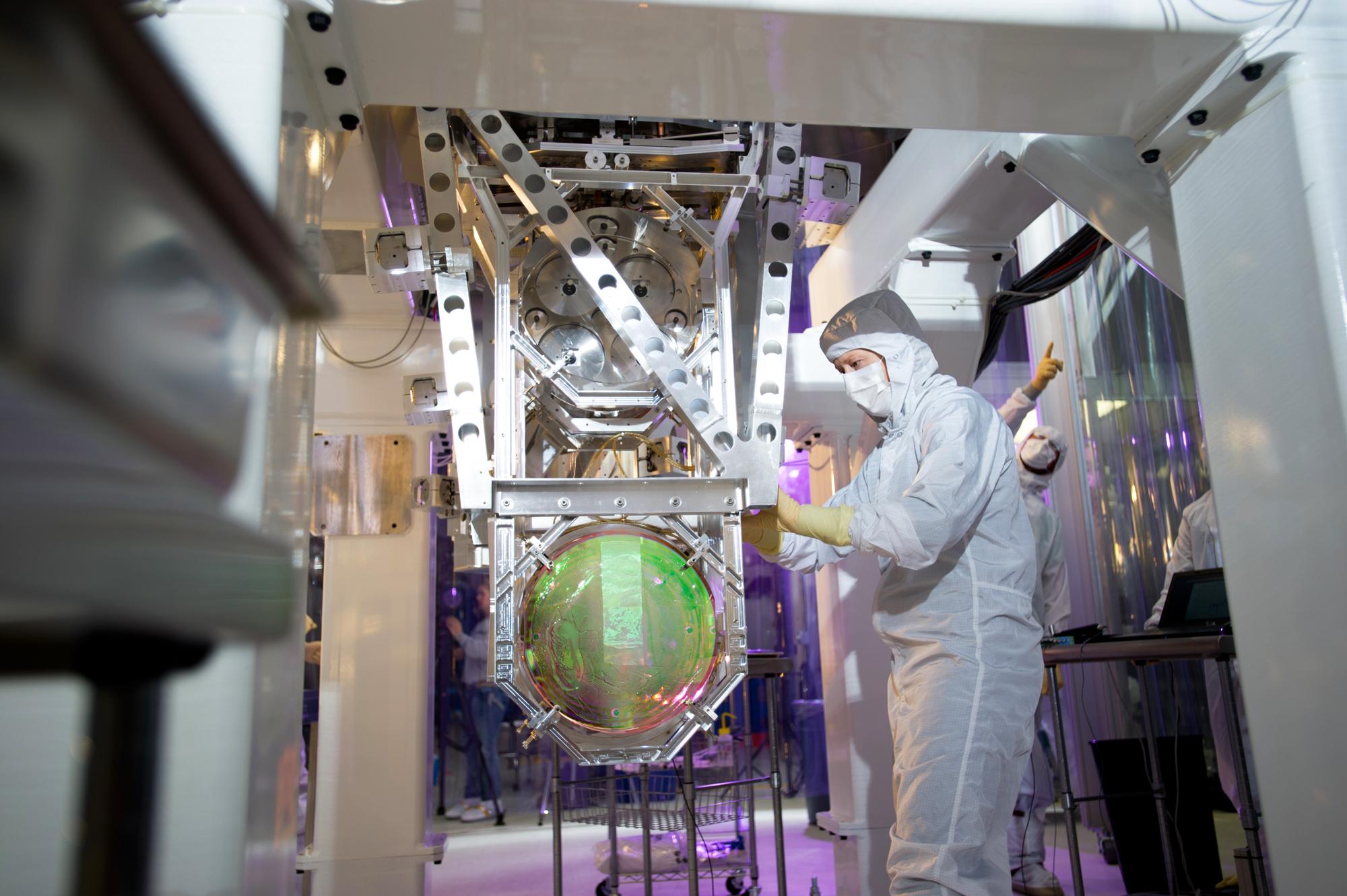 LIGO mirror