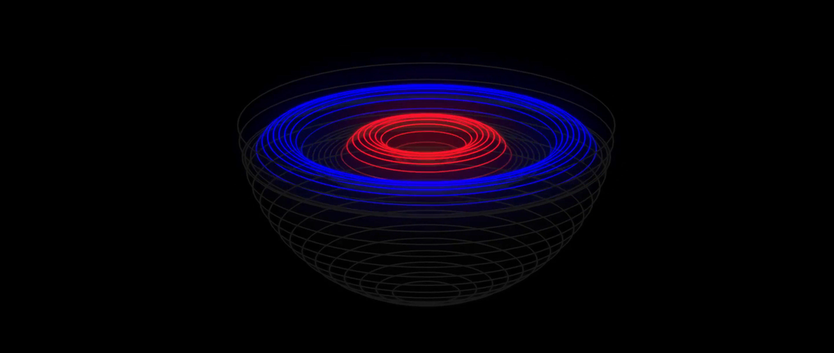 Animation of black hole formation.