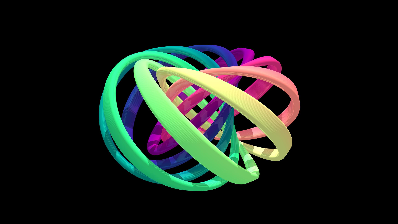 A quantum knot.
