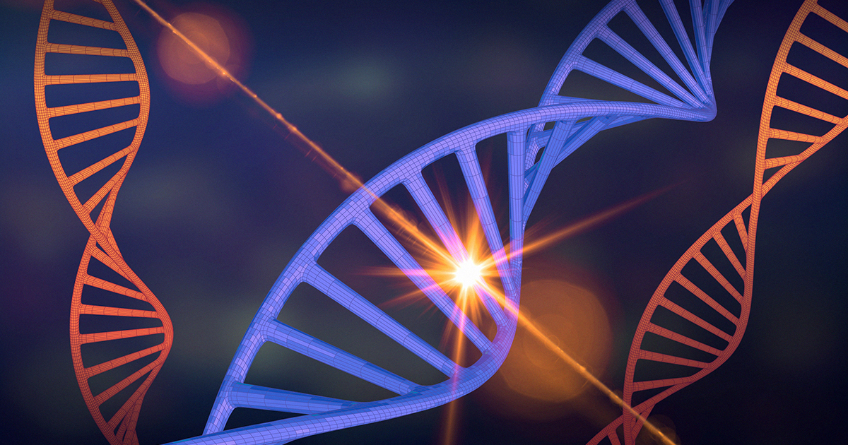 Cosmic Rays May Explain Life's Bias for Right-Handed DNA