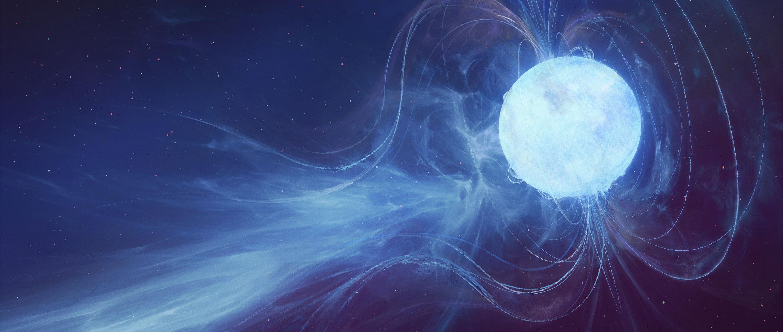A magnetar.