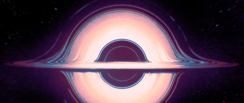 Illustration of a black hole