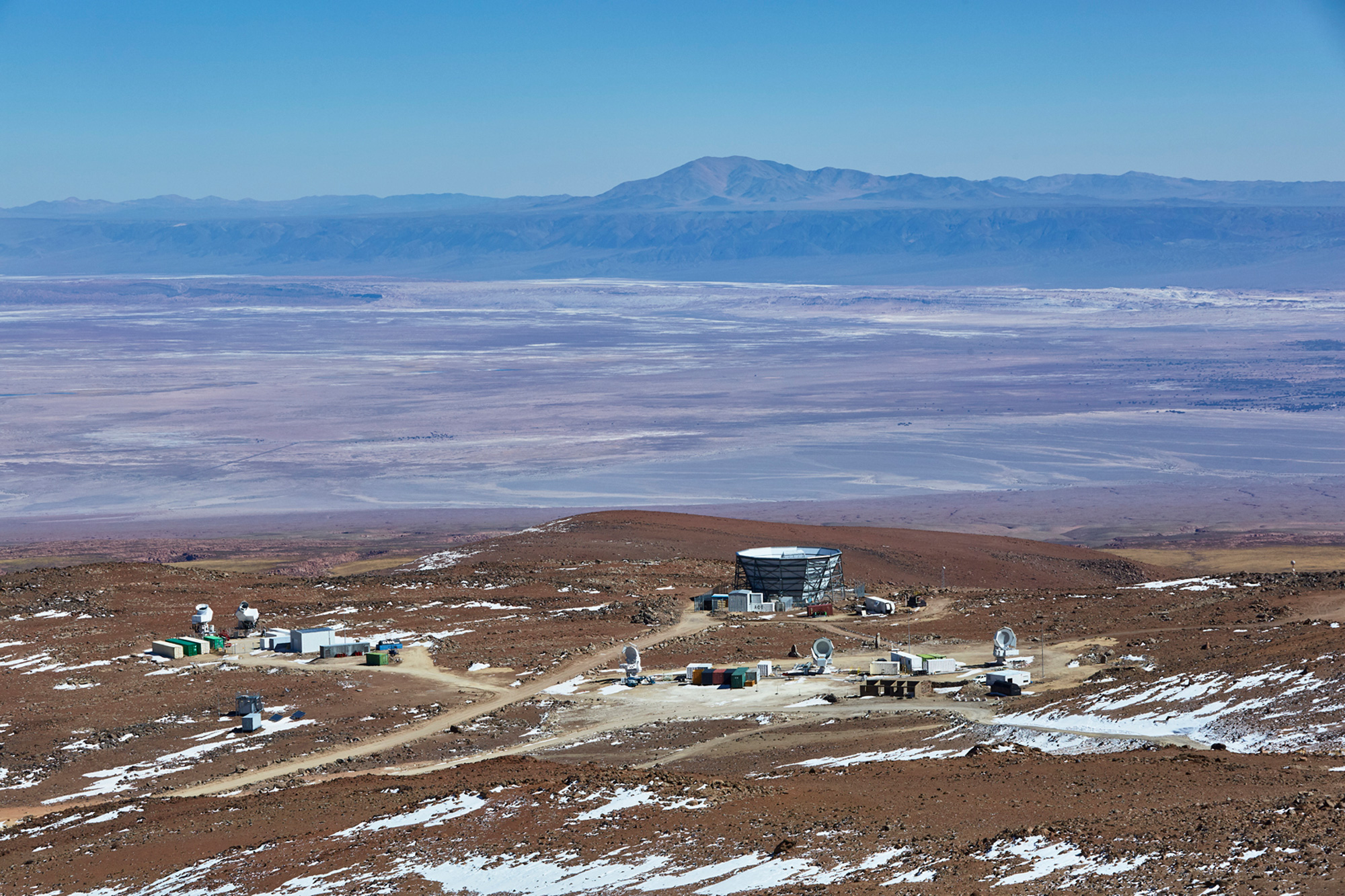Telescopes in the Atacama desert.