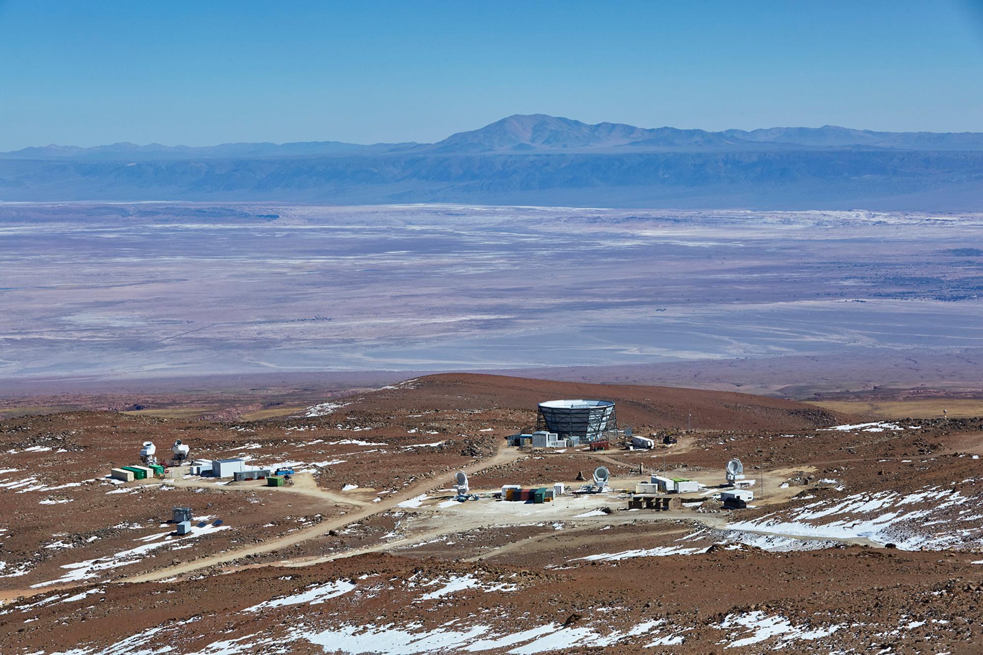 Telescopes in the Atacama desert.