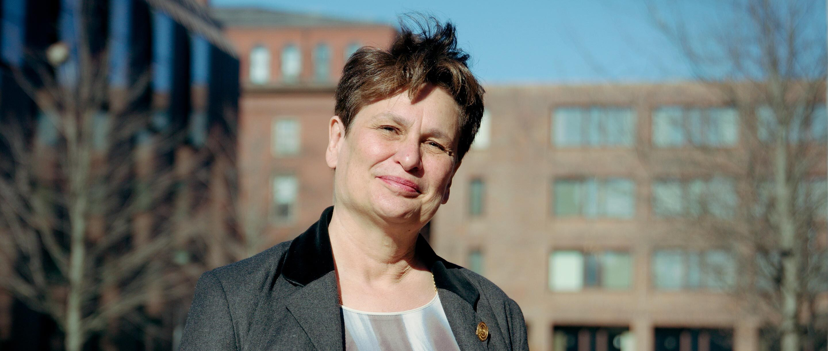 Portrait photo of Catherine Dulac of Harvard University and the Howard Hughes Medical Institute.