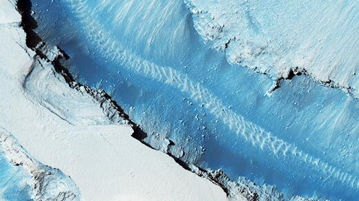 Blue faults of Cerberus Fossae