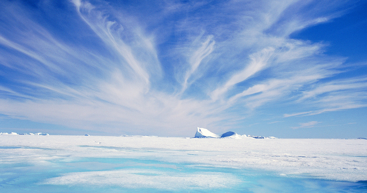Cloud-Making Aerosol Could Devastate Polar Sea Ice
