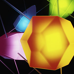3D illustration of Gardam's crystallographic group