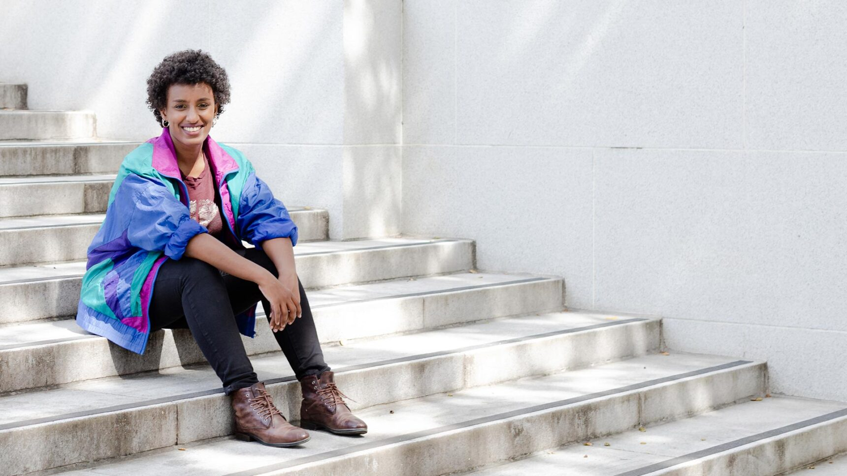 Abebe switched fields from math to computer science in order to learn tools she could apply to social problems like poverty and educational inequality.